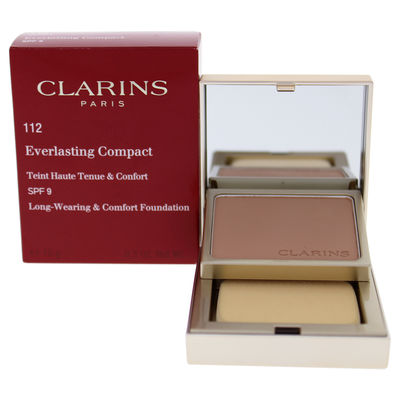 Clarins - Everlasting Compact Foundation SPF 9 - 112 Amber 0,3oz