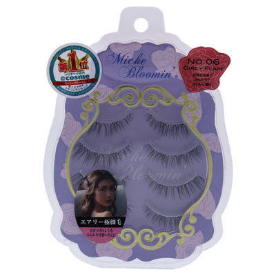 Miche Bloomin - False Eyelashes - 06 Girl Flair 4Pair