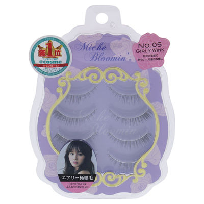 Miche Bloomin - False Eyelashes - 5 Girl Wink 4Pair