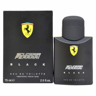 Ferrari - Ferrari Black EDT 75 ML (2.5oz) Men Perfume (Original)