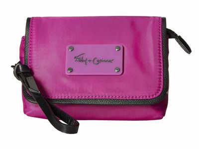 Foley & Corinna - Foley & Corinna Grape City Eclipse Flap Cosmetic Wristlet Clutch Bag