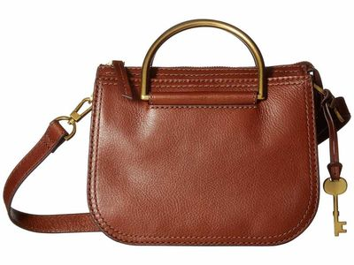 Fossil - Fossil Brown Ryder Mini Satchel Satchel Handbag