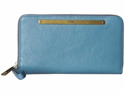 Fossil - Fossil Caribbean Liza Zip Around Clutch Checkbook Wallet