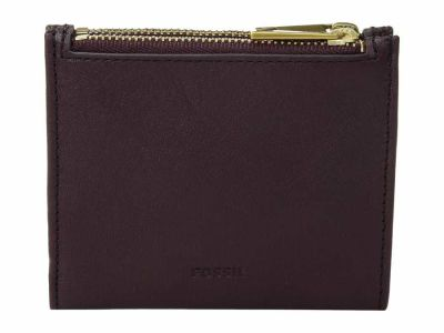 Fossil - Fossil Fig Shelby Mini Multifunction Bifold Wallet
