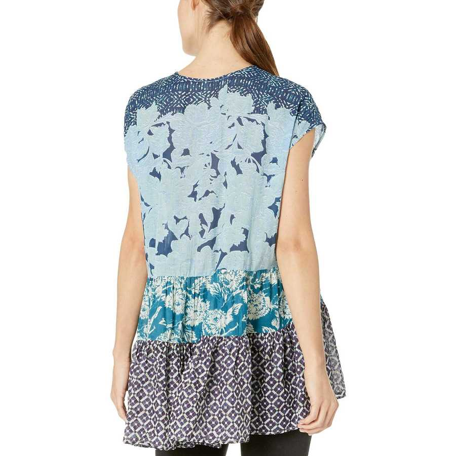 Free People Blue Gotta Have You Tunic