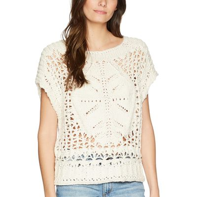 Free People - Free People Cream Diamond İn The Rough Sweater
