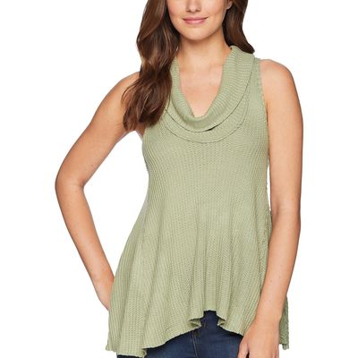 Free People Green Swing It Cowl