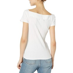 Free People Ivory Ahoy Solid Tee - Thumbnail