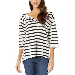 Free People Ivory Combo Head İn The Clouds Stripe - Thumbnail