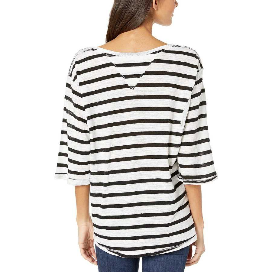 Free People Ivory Combo Head İn The Clouds Stripe