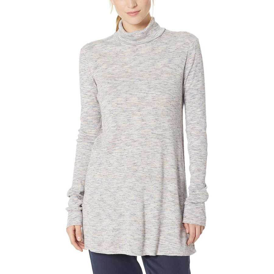Free People Ivory Stonecold Long Sleeve Top