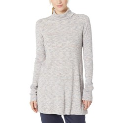 Free People Ivory Stonecold Long Sleeve Top - Thumbnail