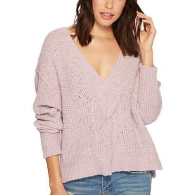 Free People - Free People Light Purple Coco V-Neck