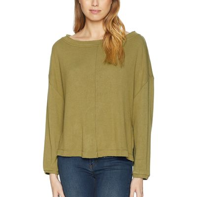 Free People - Free People Moss Be Good Terry Pullover