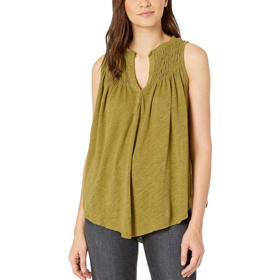 Free People Moss New To Town Tank Top