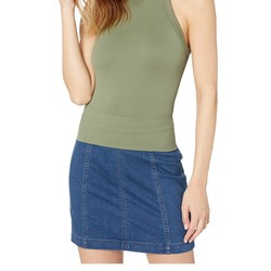 Free People Moss Wide Rib Seamless Cami - Thumbnail