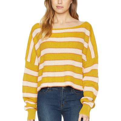 Free People - Free People Multi Just My Stripe Pullover