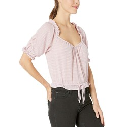 Free People Pink Dorothy Top - Thumbnail