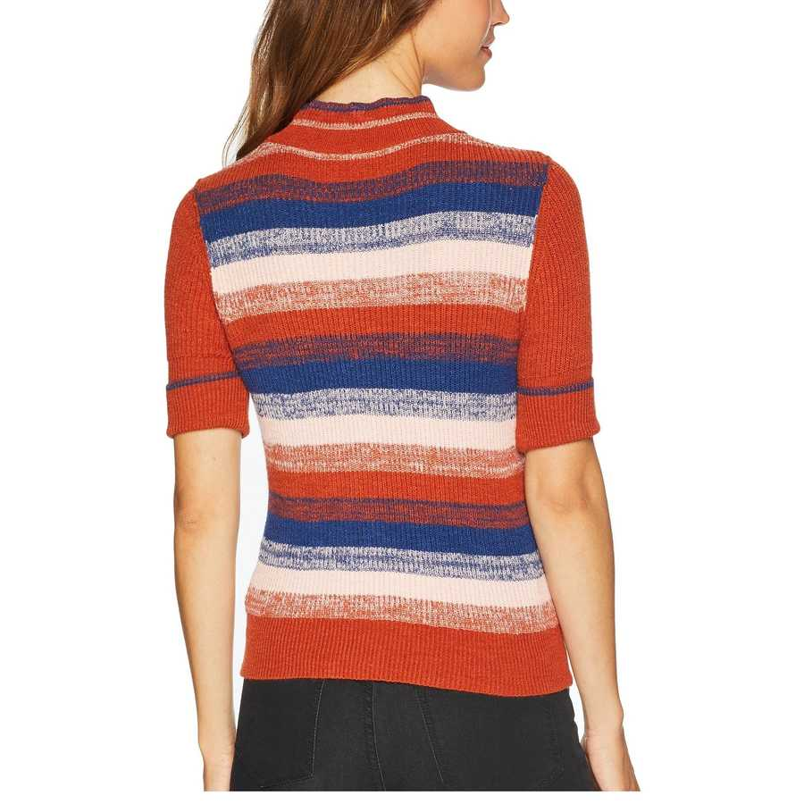 Free People Terracotta Best Intentions Pullover
