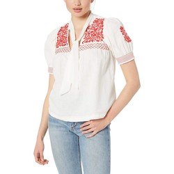 Free People White Dreaming About You Top - Thumbnail