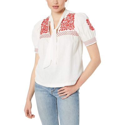 Free People - Free People White Dreaming About You Top