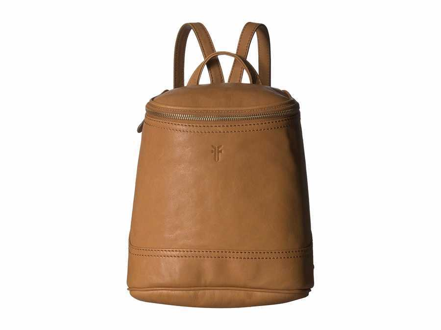 Frye Tan Soft Vintage Leather Madison Small Backpack