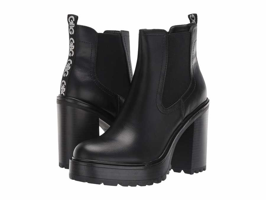 G By Guess Women Black 1 Starly Ankle Bootsbooties