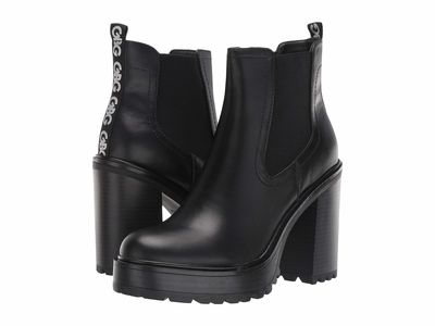 G By Guess - G By Guess Women Black 1 Starly Ankle Bootsbooties