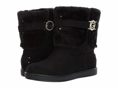 G By Guess - G By Guess Women Black Alstyn Ankle Bootsbooties