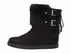 G By Guess Women Black Ashton Mid Calf Boots - Thumbnail