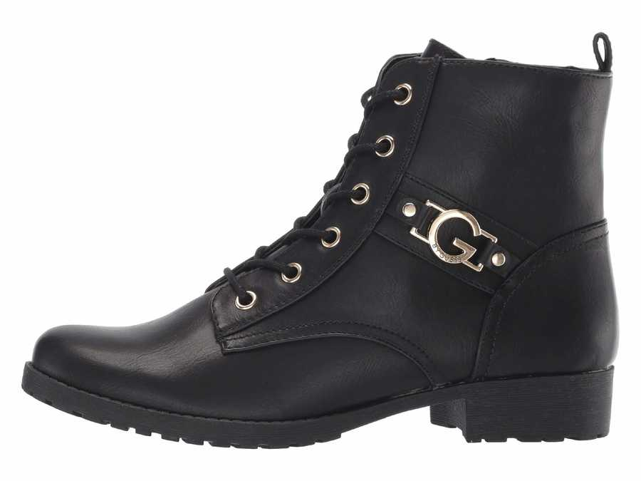 G By Guess Women Black Bensyn Ankle Bootsbooties