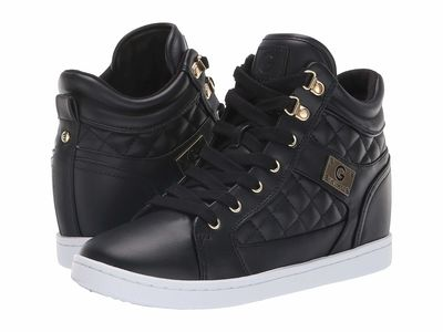G By Guess - G By Guess Women Black Dayna Lifestyle Sneakers