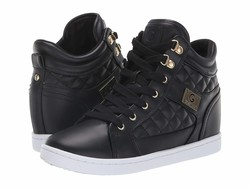 G By Guess Women Black Dayna Lifestyle Sneakers - Thumbnail