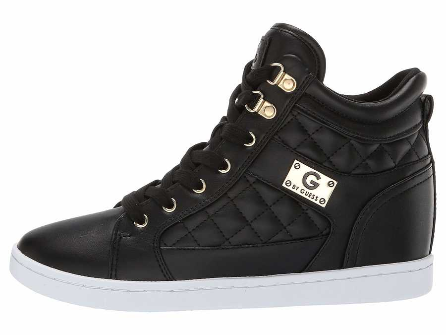 G By Guess Women Black Dayna Lifestyle Sneakers