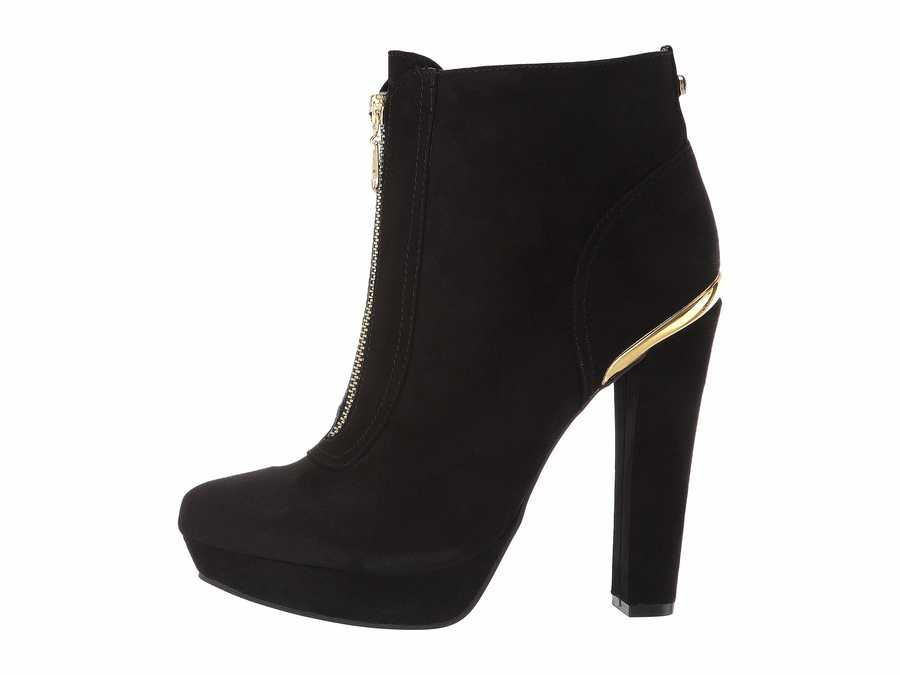 G By Guess Women Black Deava Ankle Bootsbooties