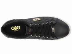 G By Guess Women Black Gretchy Lifestyle Sneakers - Thumbnail
