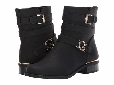 G By Guess - G By Guess Women Black Harlin Ankle Bootsbooties