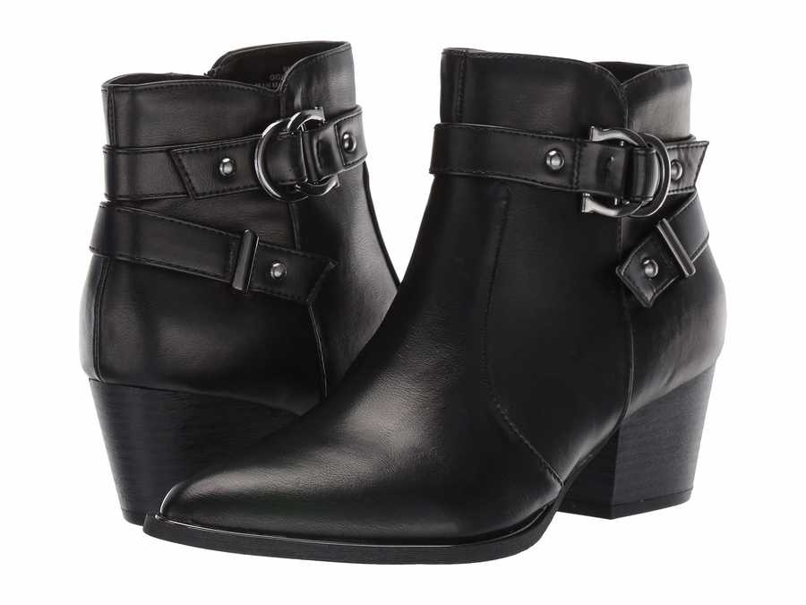 G By Guess Women Black İlluse Ankle Bootsbooties
