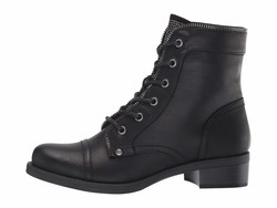 G By Guess Women Black Martel Lace Up Boots - Thumbnail