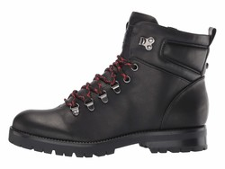 G By Guess Women Black Nallie Lace Up Boots - Thumbnail