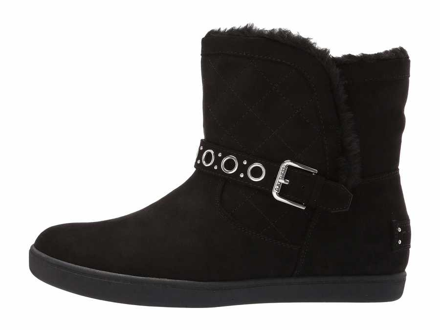 G By Guess Women Black Pint Ankle Bootsbooties
