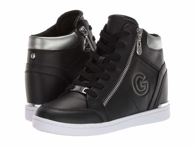 G By Guess - G By Guess Women Black/Grafite Dillin Lifestyle Sneakers