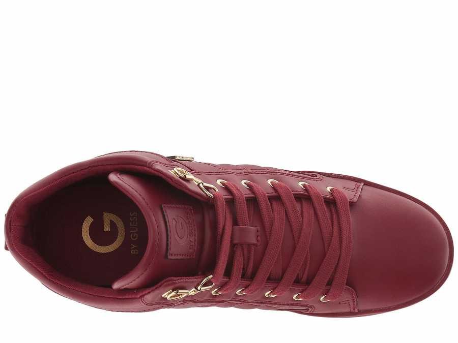 G By Guess Women Bold Cherry Dayna Lifestyle Sneakers