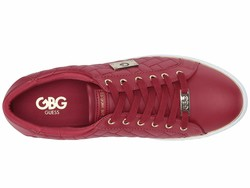 G By Guess Women Bold Cherry Gretchy Lifestyle Sneakers - Thumbnail