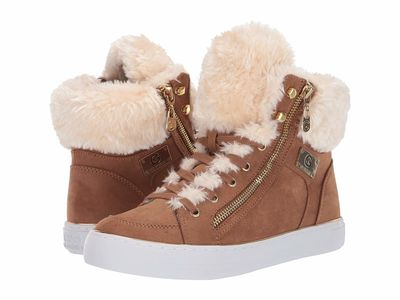 G By Guess - G By Guess Women Chipmunk/Light Honey Gabbi Lifestyle Sneakers