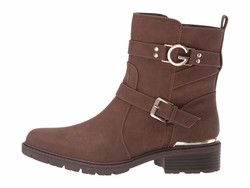 G By Guess Women Dark Brown Tobey Ankle Bootsbooties - Thumbnail