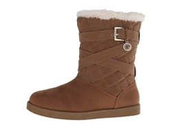 G By Guess Women Honey Babez Shearling Style Boots - Thumbnail