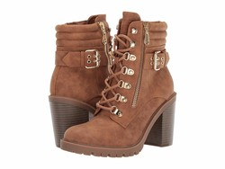 G By Guess Women Honey Glaze Jaylee Lace Up Boots - Thumbnail