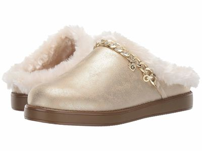 G By Guess - G By Guess Women Light Gold Ariella 2 Slippers