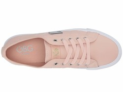 G By Guess Women Light Pink Oking Lifestyle Sneakers - Thumbnail